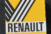 Renault fyrstikkeske - baksiden