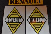 Renault klistremerker