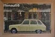 Renault plakat med ramme 112 x 76 cm.