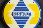 Rundt skilt Renault