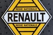Skilt Renault